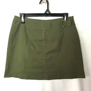 St Johns Bay Skort Skirt Sz 8 green